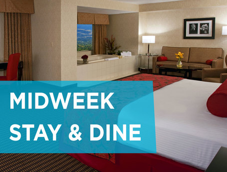 Midweek Stay and Dine Offer