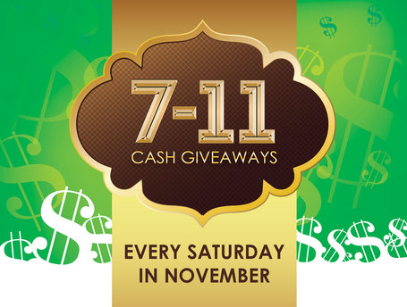 7-11 Cash Giveaways